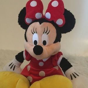 Disneyland Minnie Mouse Plush Authentic